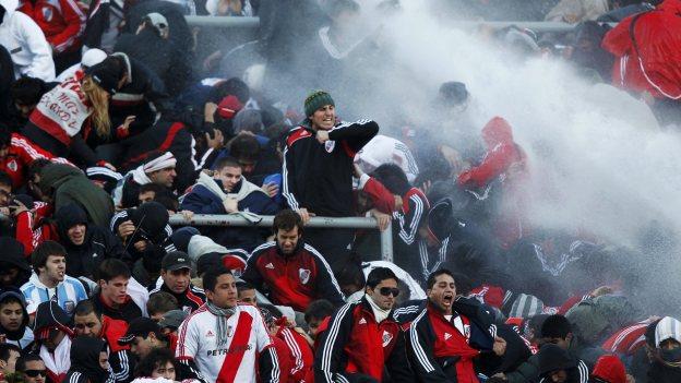 La tristeza, rabia y frustración se apoderó de los Millonarios. (Reuters)