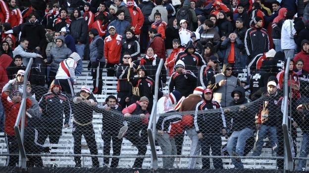 La tristeza, rabia y frustración se apoderó de los Millonarios. (AFP)