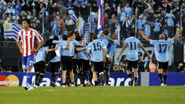 Uruguay  tiene 15 títulos en la Copa América. (AFP)