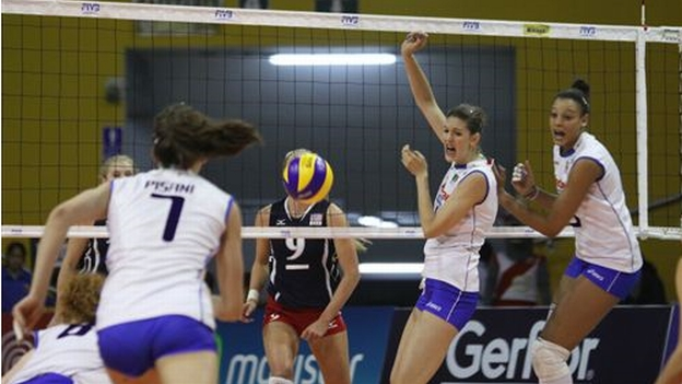 La selección de Italia derrotó a Perú y Estados Unidos en el coliseo Dibós. (Foto: Fivb.org)