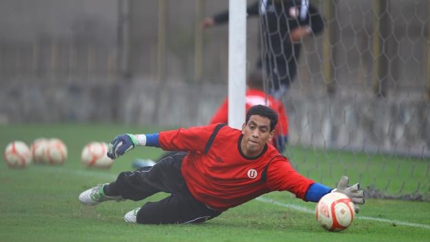 3 goles le marcaron a Luis Llontop en los cinco partidos que disputó la 'U' en la Sudamericana.(Eddy Lozano)