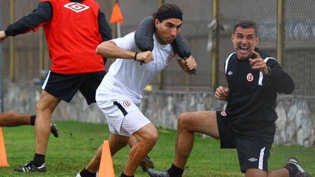 Vitti llegó en enero de 2010 a San Martín. (Daniel Apuy)