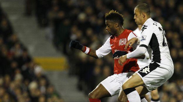 Arsenal es quinto con 36 puntos. (AP)