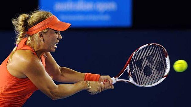 Caroline Wozniacki es la número uno del ránking de la WTA.