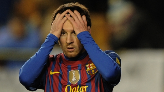 Messi falló siete penales en el Barcelona. (AFP/ Youtube)