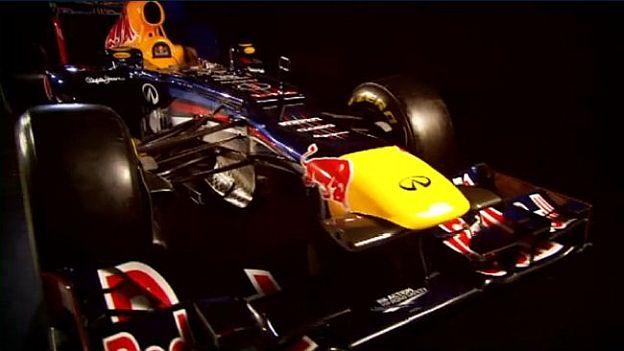 Este es el nuevo carro de Red Bull.