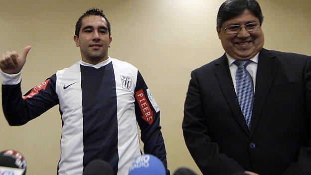 Meneses firmó con Alianza 5 meses de contrato. (USI)
