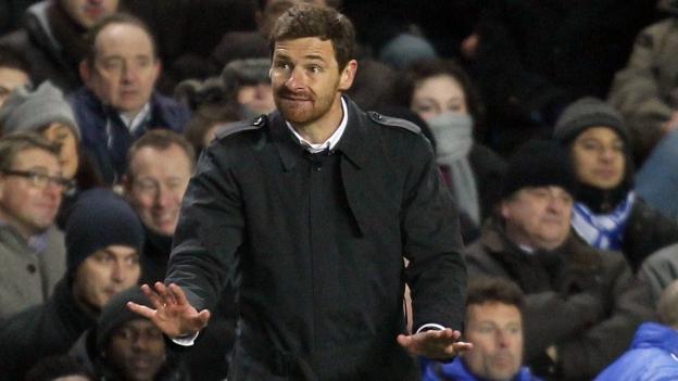 Villas Boas llegó al Chelsea en junio del 2011 procedente del Porto.(AFP)