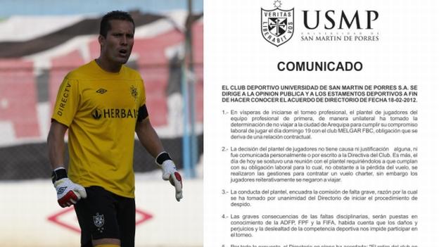 San Martín ya afirmó por todos los medios que dejaron el fútbol. (USI)