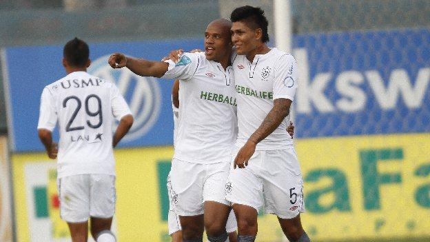 Perea anotó su primer hat trick en el fútbol peruano. (Erick Nazario/Sandra Vargas)