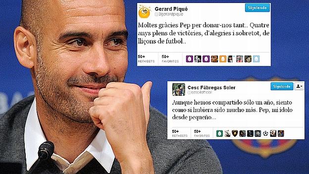 Guardiola ganó 13 títulos con el Barcelona. (USI)
