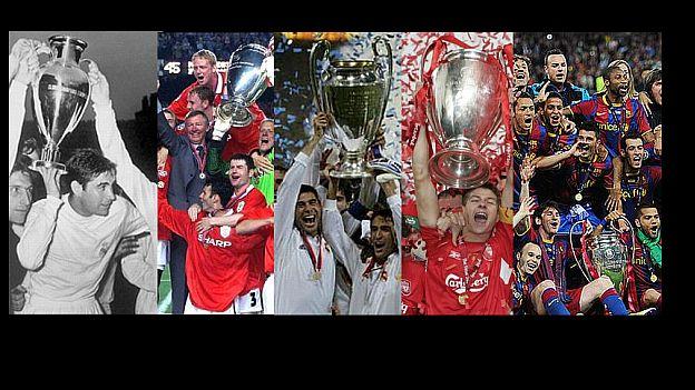 Real Madrid tiene 9 Champions en su historia. (Internet)