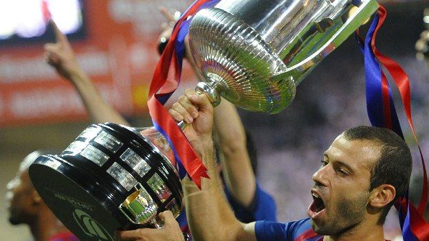 Mascherano consiguió 6 títulos con el Barza desde que llegó en 2010. (Reuters)