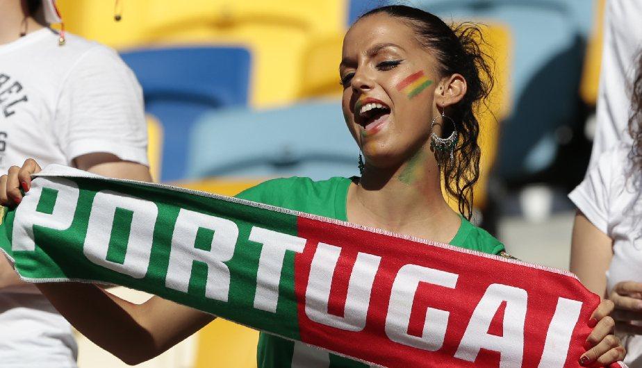 Esta portuguesa jamás dejó de alentar y nos regaló una tarde de ensueño con sus encantos. (AP)