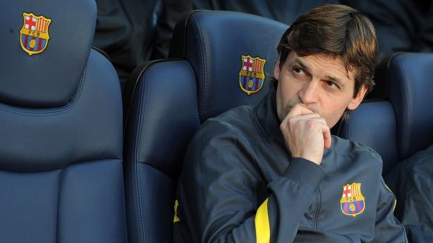 Tito Vilanova hasta la pasada temporada, era el asistente de Guardiola. (AFP)