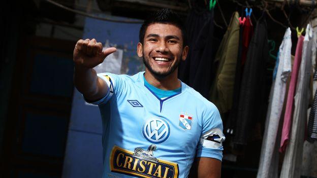 Tarek  Carranza jugó los sudamericanos de 2007 (Sub 15) y 2009 (Sub 17). (Erick Nazario)