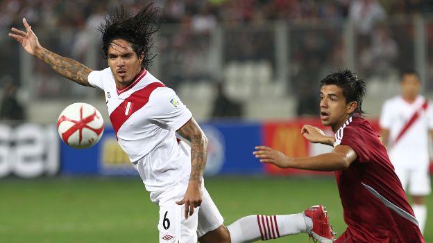 Vargas no deja de ponerle ganas a cada encuentro con la bicolor. (Fernando Sangama)