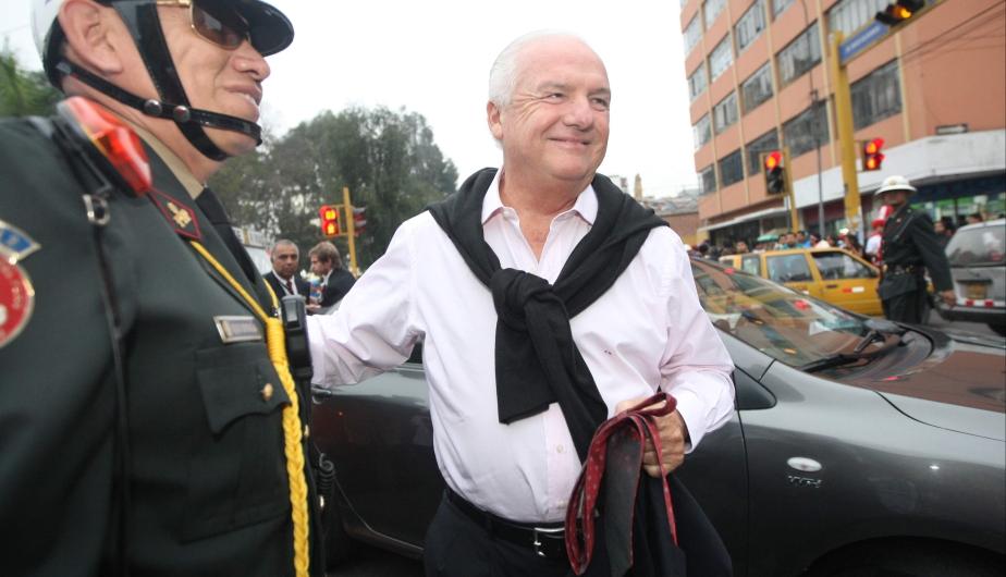 El periodista che Fernando Niembro, de FOX Sports, reconoció que la selección peruana jugó a gran nivel. (Leo Fernández)