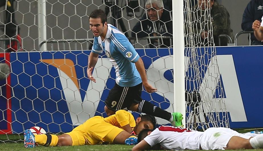 Gonzalo Higuaín y el gol del empate. (Depor)