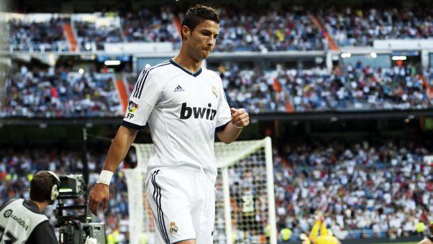 Cristiano Ronaldo lleva dos goles en la Liga española. (AFP)