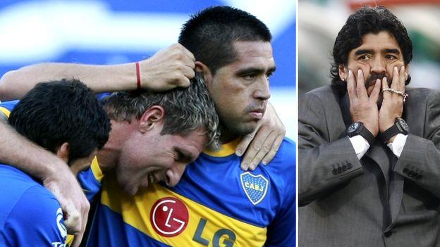 Riquelme anunció que rescindió su contrato con Boca Juniors. (Foto: AP/Reuters)