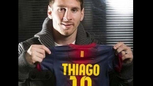 Thiago será el primer hijo de Lionel Messi.