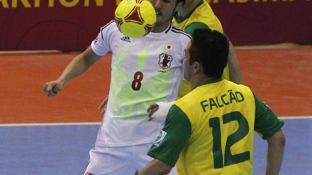 Brasil también domina el mundo del fútsal donde es tetracampeón. (Reuters)