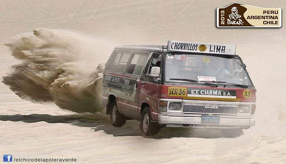 ¿El 'Chama' en el Dakar? Locuras del Facebook.