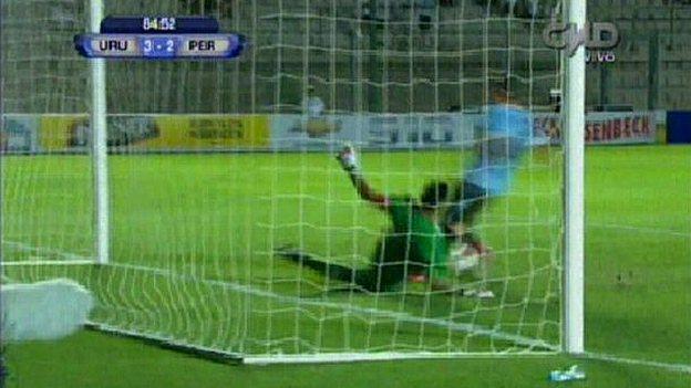 Campos juega en Alianza Lima, pero fue formado en Sporting Cristal. (AP/Movistar TV)