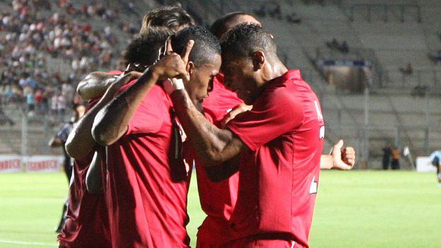 Los cuatro equipos del grupo B están igualados con 1 punto. (Leonardo Fernández/Movistar TV)