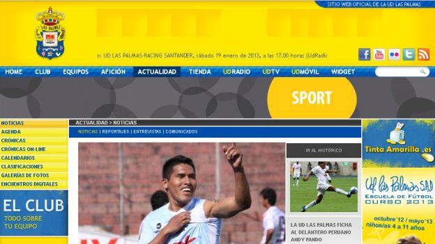 El 'Oso' quiere ganarse un nombre en el fútbol español. (Captura)
