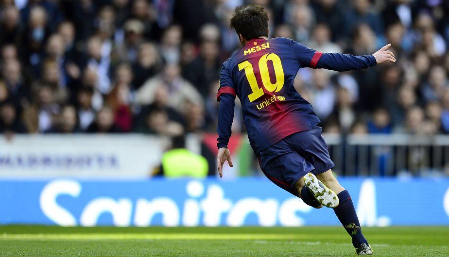 Lionel Messi, delantero del Barcelona, lleva marcados15 goles en 14 partidos.