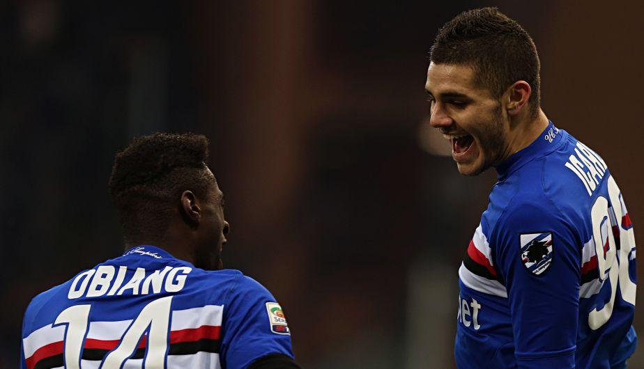 Mauro Icardi, delantero de la Sampdoria, lleva marcados 8 goles en 9 partidos.