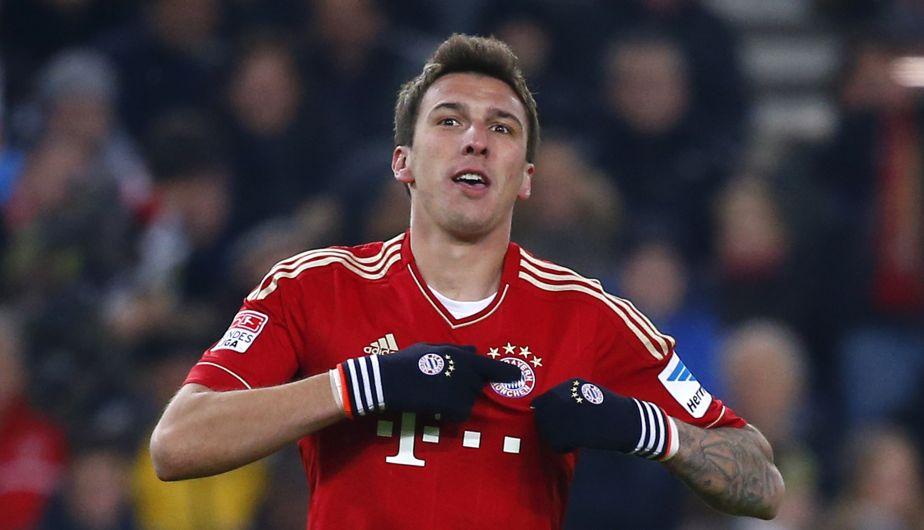 Mario Mandzukic, delantero del Bayern Munich, lleva marcados 7 goles en 7partidos.