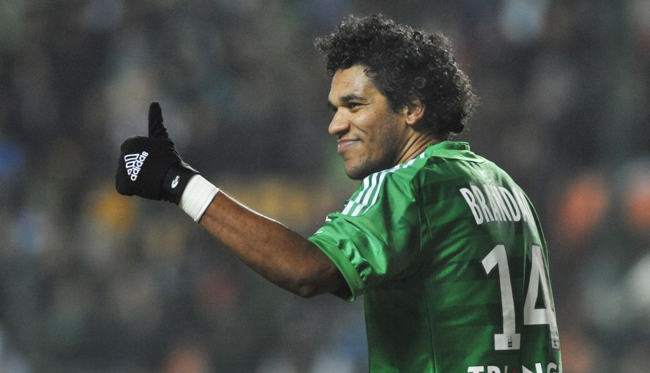 Brandão, delantero del Saint Étienne, lleva marcados 7 goles en 10 partidos.
