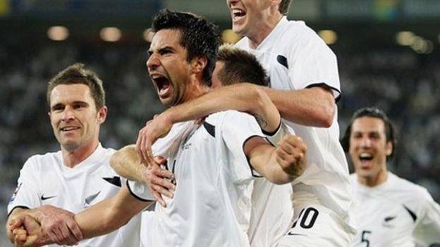 Nueva Zelanda clasificó a Sudáfrica 2010 y no perdió un solo partido en el torneo.