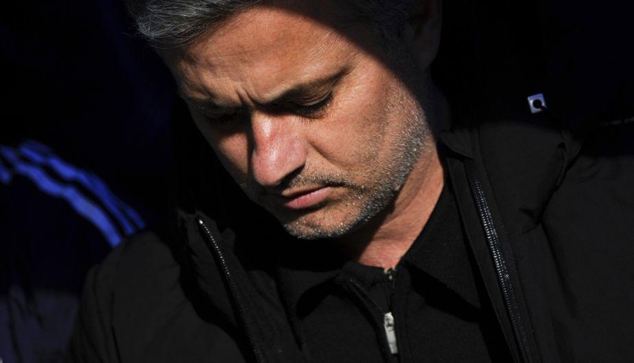 José Mourinho, aunque comenzó molesto por el gol de Levante, terminó feliz por la remontada.