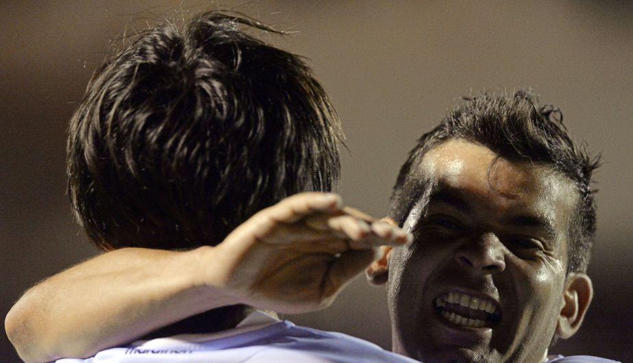 Real Garcilaso le ganó 5-1 a Cerro Porteño y quedó a un paso de llegar a octavos de final. (AFP)