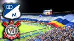 Millonarios exhibirá frente a Corinthians una de las banderas más grandes del mundo