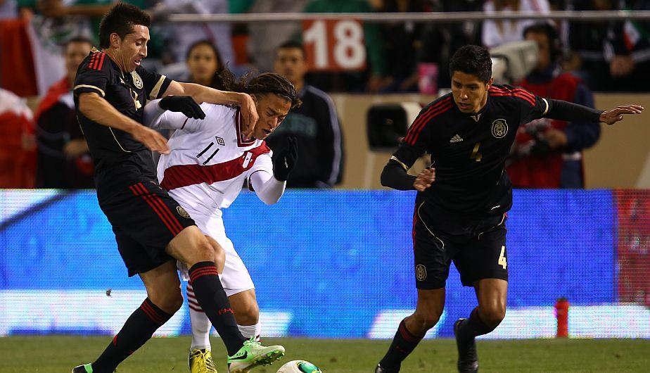 Cristian Benavente fue de los mejor que mostró la selección peruana ante México. (Daniel Apuy)