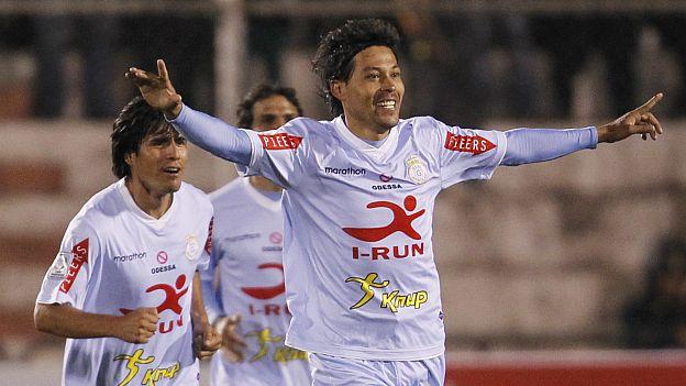 Bogado lleva 2 goles en la Copa Libertadores. (AP)