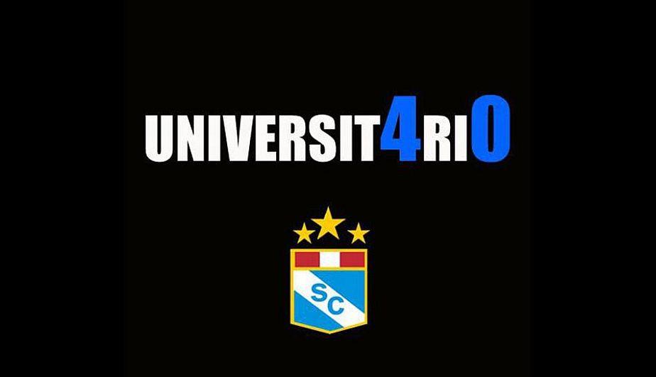 Sporting Cristal goleó a Universitario con goles de Rengifo, Ávila y Lobatón.