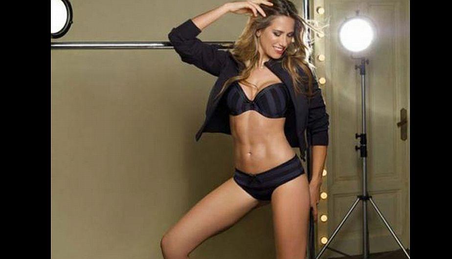 La hermosa argentina demostró que no solo es buena para los deportes, sino también para el mundo del modelaje.