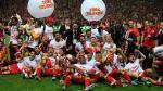 Didier Drogba se proclamó campeón con el Galatasaray en Turquía