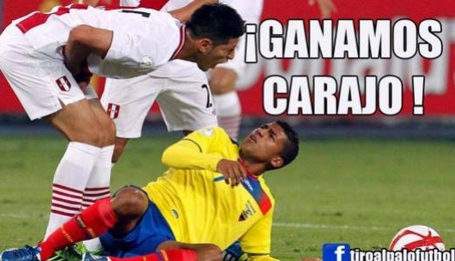 Zambrano fue uno de los mejores en la defensa peruana. (Fotos: Facebook)