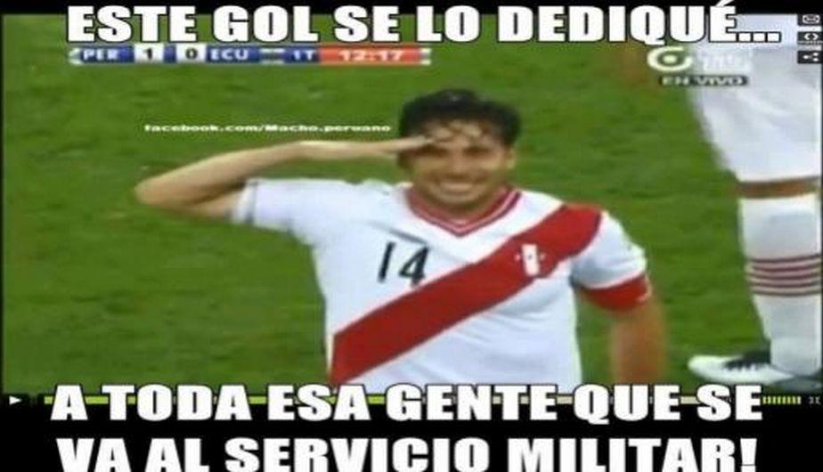 Pizarro anotó un golazo y le dio el triunfo a Perú sobre Ecuador.