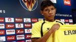 Édison Flores ascendió a la Primera División de España con el Villarreal