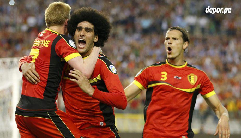 Bélgica es la gran sorpresa del fútbol europeo. Cuenta con una generación muy joven y talentosa.