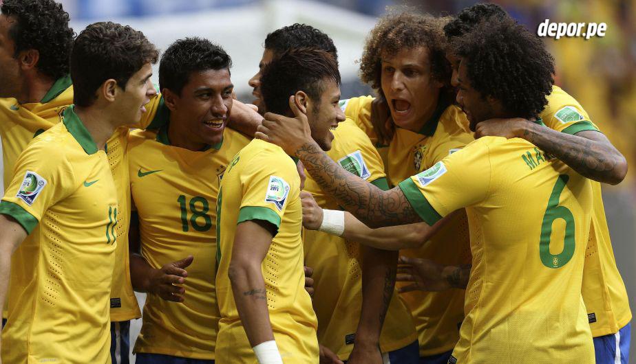 Brasil es el anfitrión y máximo favorito para ganar el Mundial. Jugadores no le faltan y juego tampoco.