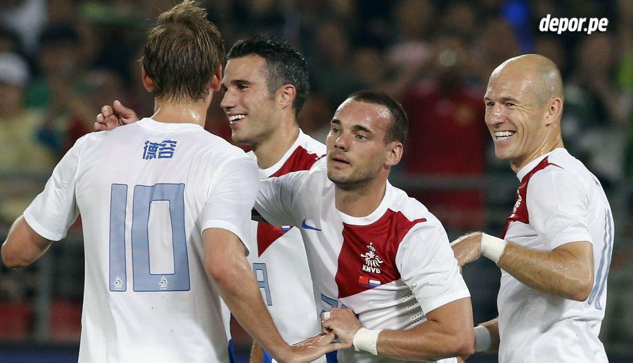 Holanda y sus estrellas también son firmes candidatos. En 2010 perdieron la final con España y quieren revancha.